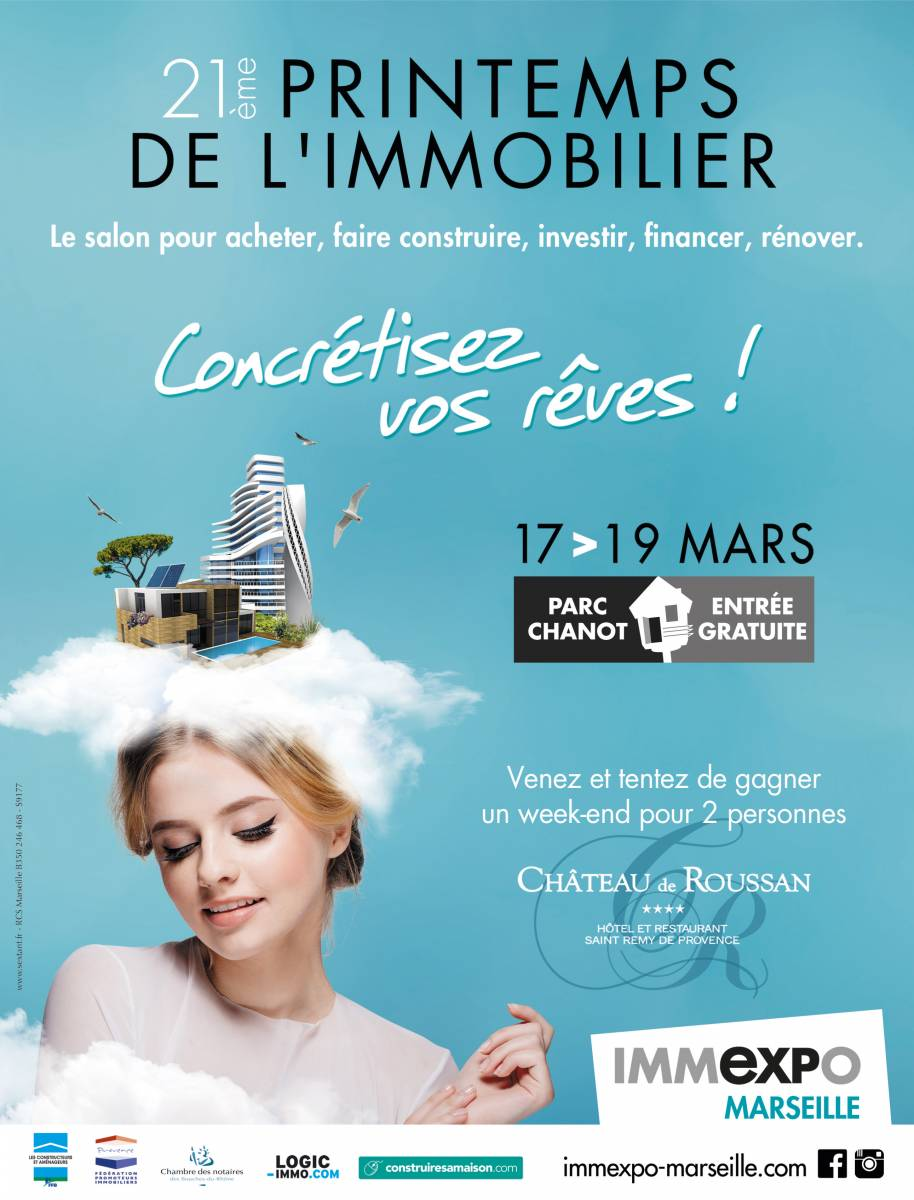 21 me printemps de l 39 immobilier marseille visiter la for Salon de l immobilier marseille